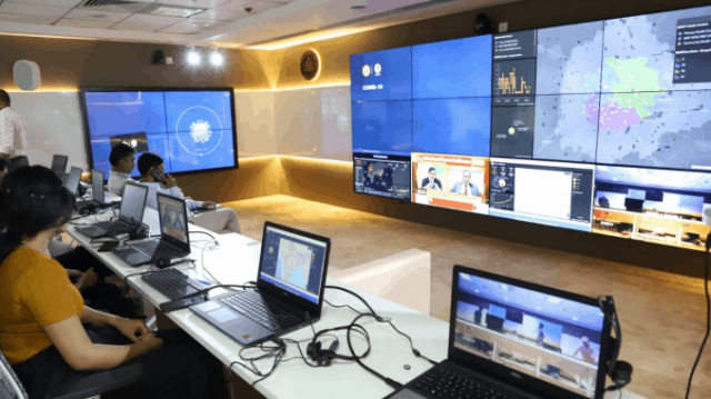 Smart City Mission centers carry out COVID-19 ops